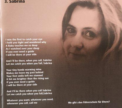 Cover Sabrina - Vision of Peace - Tina Wiegand - Soulfit -